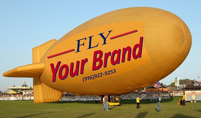 Custom Branded Hot Air Balloon | Airship |  Marketing | Public Relations